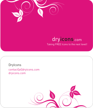 dryicons_business_card_template
