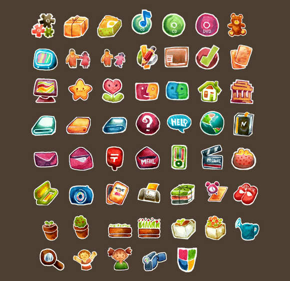 Red_Little_Shoes_Iconset