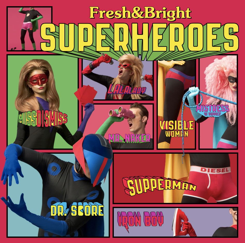 Fresh&Bright Super Heroes