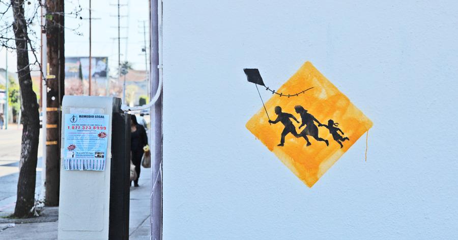 Banksy andou por New York esses dias